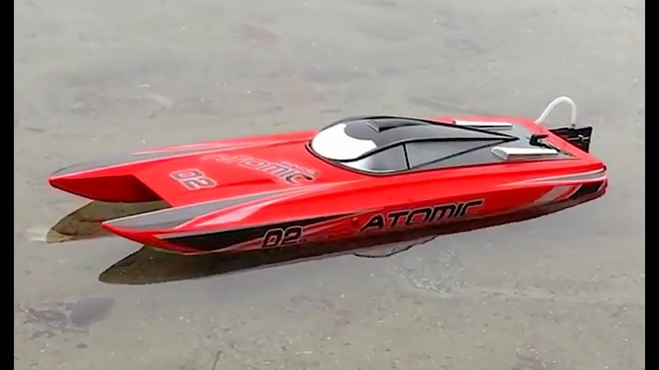 Volantex V792-4 ATOMIC Professional Racing Boat Review