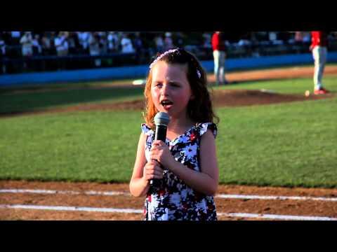 "Katie Lalor Sings ""God Bless America"""