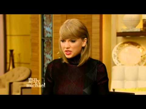 Taylor Swift on Live! with Kelly and Michael (Mar 25th, 2015)