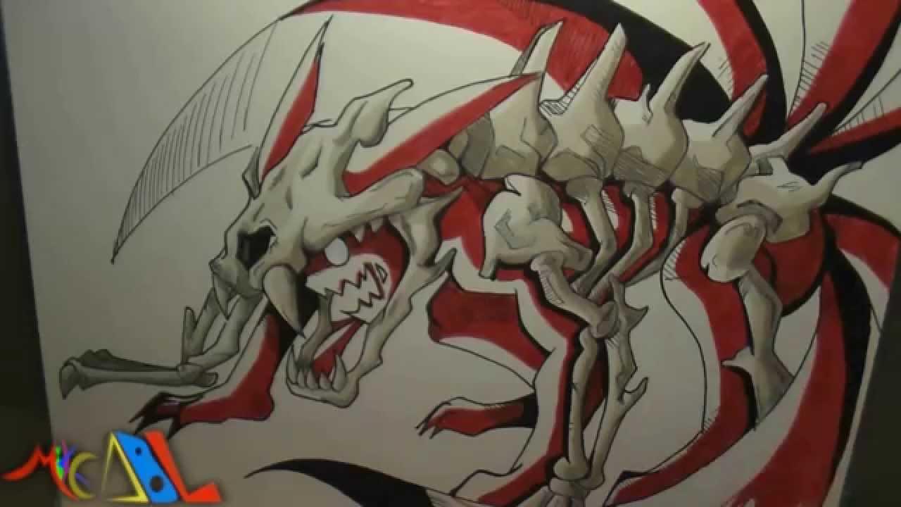 Dibujando a: Naruto (Manto de 6 colas) - YouTube
