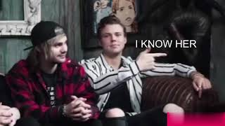 5 seconds of summer tries to tie the kain pelikat but better