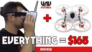 ULTIMATE BEGINNERS DRONE KIT! Start Racing TODAY!! Emax tinyhawk RTF review