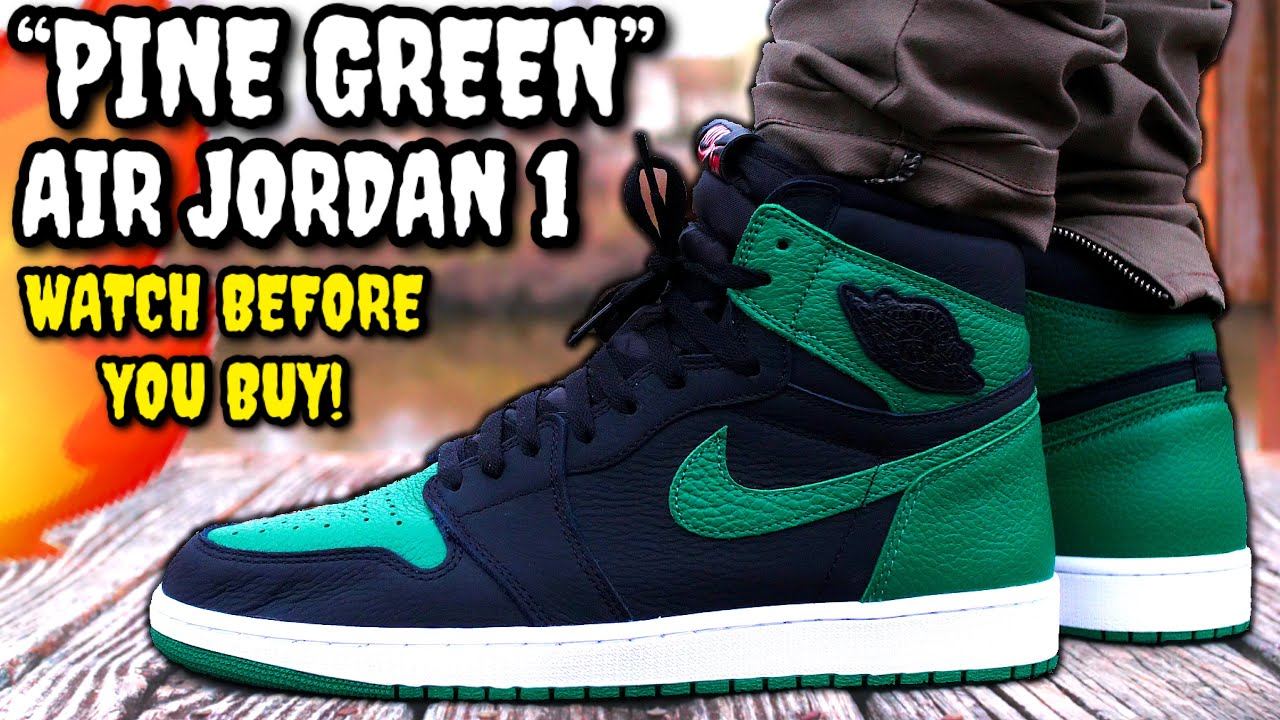 Air Jordan 1 PINE GREEN 2020 REVIEW & ON FEET! WATCH BEFORE You BUY! Worth $170?