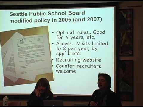 The Threat Of Military Recruiting In Our Schools