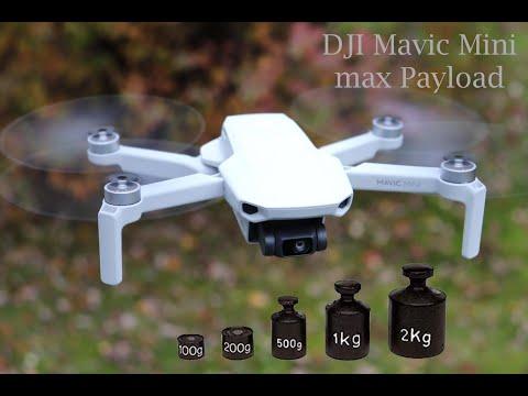 DJI Mavic Mini Max Payload TEST