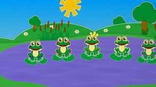 5 лягушек | Учим цифры | Считаем | Уроки от Пинги и Кроки | #20
