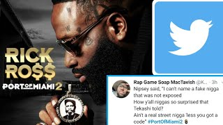 """Twitter Reacts To Rick Ross New Album """"Port of Miami 2"""""""