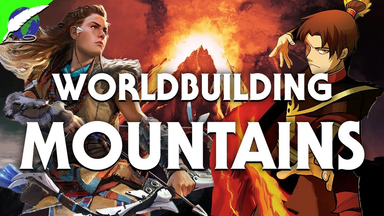 On Worldbuilding: Mountains in Fantasy Maps! [ ASOIAF   Dune   Stormlight ]