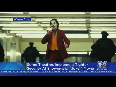 Lance Houston - Expect Tightened Security at Movie Theaters for 'Joker' Release