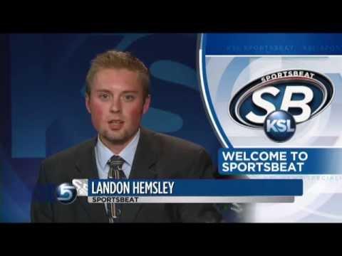 Landon Hemsley KSL Internship newsreel