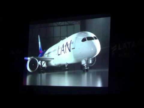 LATAM Airlines primer vuelo