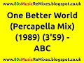 Miniature de la vidéo de la chanson One Better World (Percapella Mix)