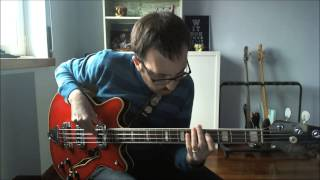 Tricotism with Fender Coronado Bass II
