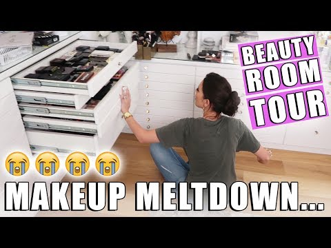BEAUTY ROOM TOUR ... (REAL AF)