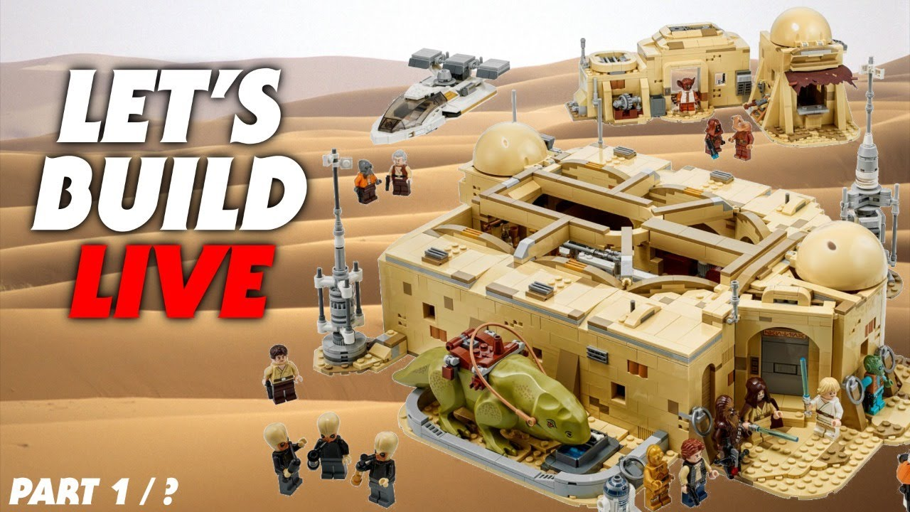 Let's Build the LEGO Cantina LIVE!