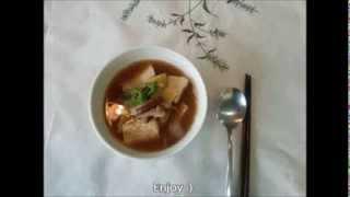 How To Make Korean Miso Soup : Doenjang Jiggae (mom's Recipe)