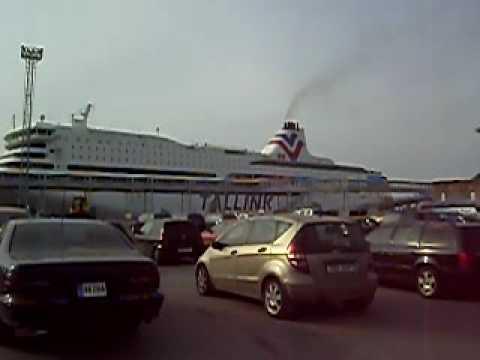 M/S Romantika leaving from Tallinn for the last time