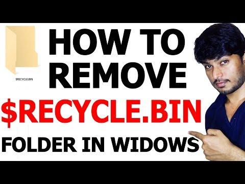 How To Remove $RECYCLE.BIN (Virus Or Folder) Windows 10 👍