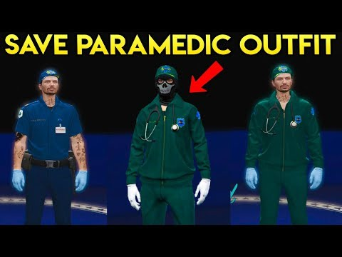 Download Youtube: GTA Online - How to Save the Paramedic Outfit (Easy Tutorial)