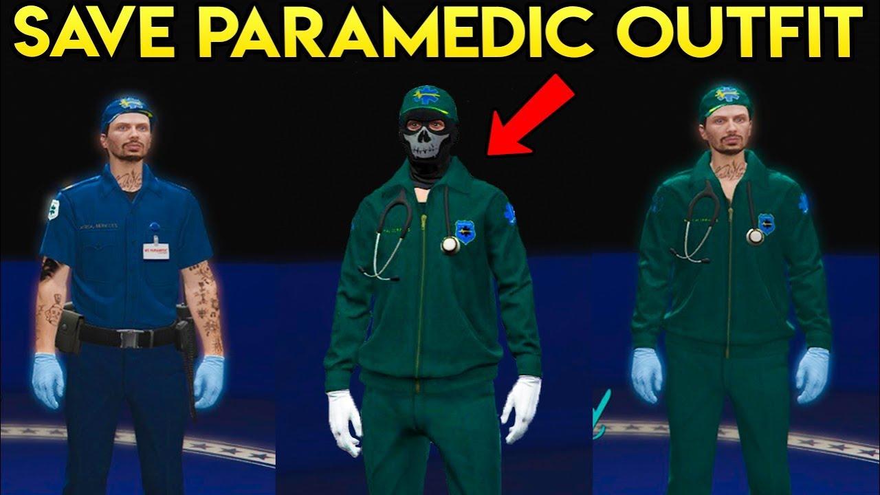 Image result for gta v doomsday paramedic ped uniform