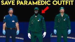 GTA Online - How to Save the Paramedic Outfit (Easy Tutorial)