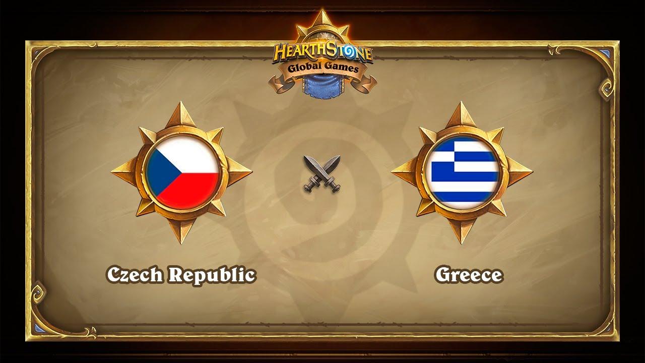 Чехия vs Греция, 1/8, Hearthstone Global Games Playoffs