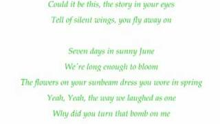 Jamiroquai - Seven days in sunny June with lyrics