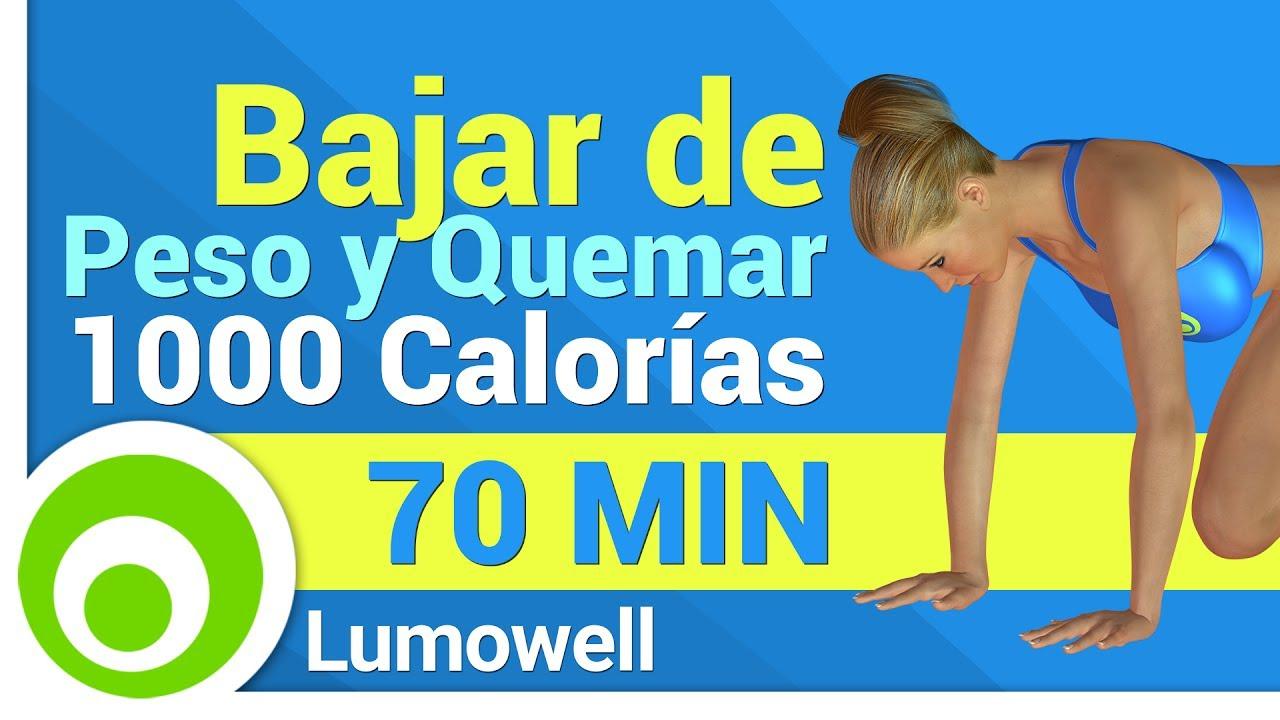 pérdida de peso de 1000 calorías por semana