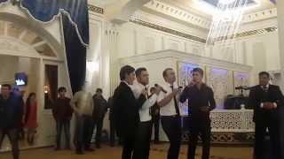 """Друзья жениха спели песню на свадьбе (Команда КВН """"Мужской Монастырь"""""""