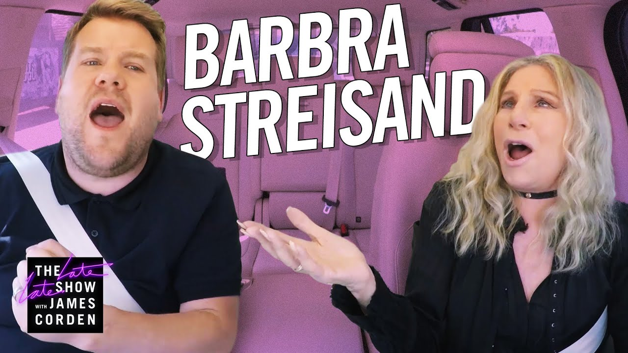 Carpool Karaoke with Barbra Streisand