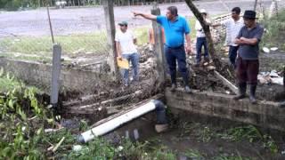 Lluvias provocan inundaciones en Jacaltenango