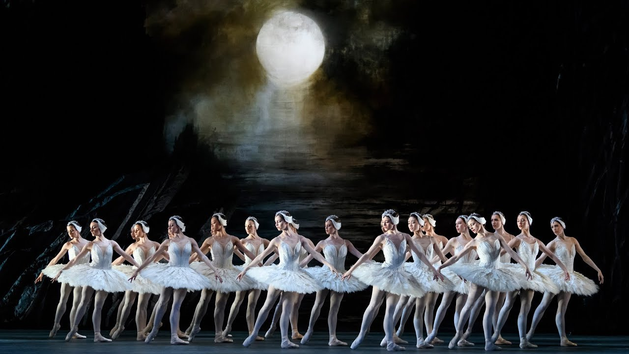 Swan Lake – Act II corps de ballet (The Royal Ballet) - YouTube