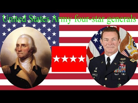 United States Army Four-star Generals