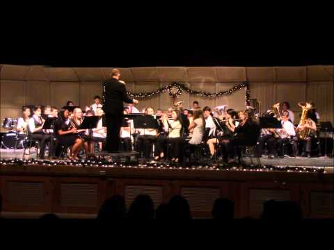 Clifton High School Concert Band Holiday Concert 2014