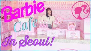GOING TO BARBIE CAFE IN KOREA & OPENING A LOVE PACKAGE FROM LONDON!!!! thumbnail