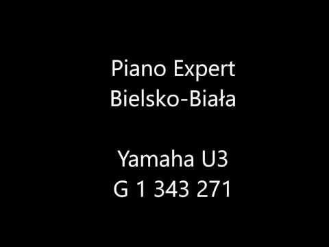 Piano Expert Yamaha U3 biały połysk