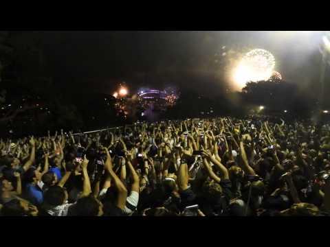 Sydney NYE 2017 Fireworks 360 camera