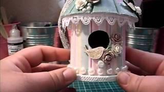 Decorated Mini Bird House