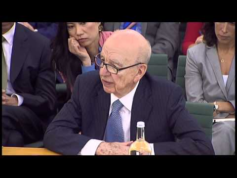 Rupert Murdoch's unorthodox answers on phone hacking