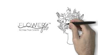 Subscription Based Flower Delivery Service - San Diego - Monthly Flower Deliveries
