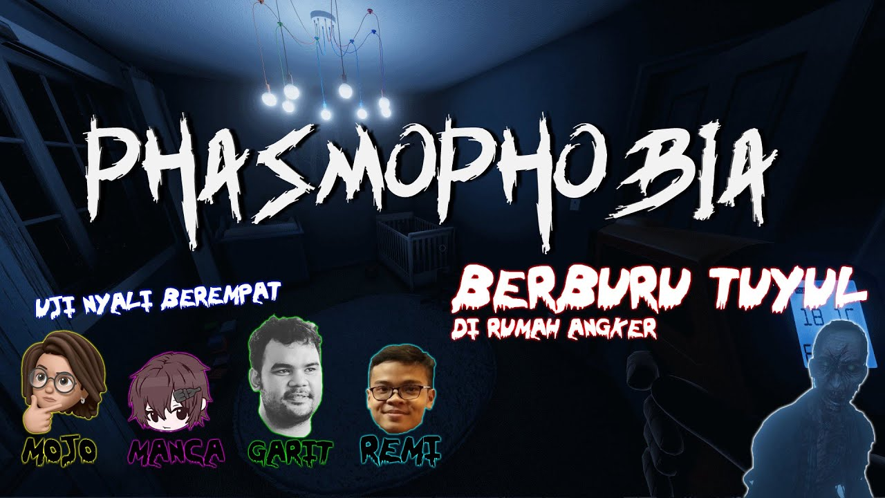 Phasmophobia - Berburu Tuyul @MILYHYA @Garit Dewana @Renaldi Putra  👻