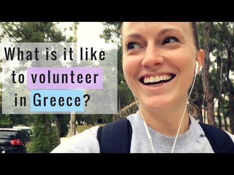 Greece #5: A day in the life volunteering with refugees!