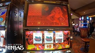 VGT SLOTS - BREAKING DOWN $5 RUBY RED SLOT PLAY AT CHOCTAW CASINO IN DURANT