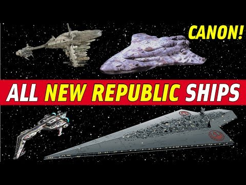 All New Republic Ships (Star Wars Canon) | The Last Jedi Analysis