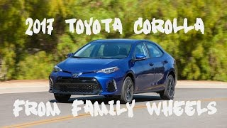 2017 Toyota Corolla review from Family Wheels