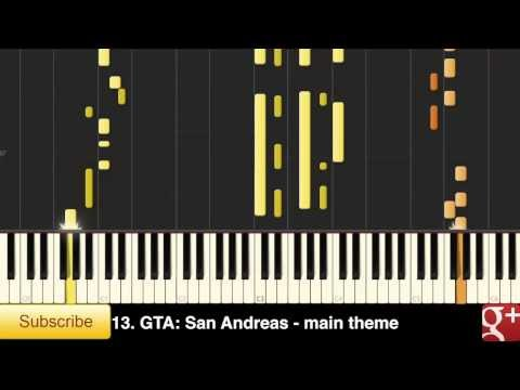 Ultimate Playstation Music Mashup Vol 1 - answers with Synthesia/Midi [Video Game Beats]