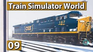 Bahnhof im SCHNEE ► TRAIN Sim WORLD Der ZUG Simulator #9