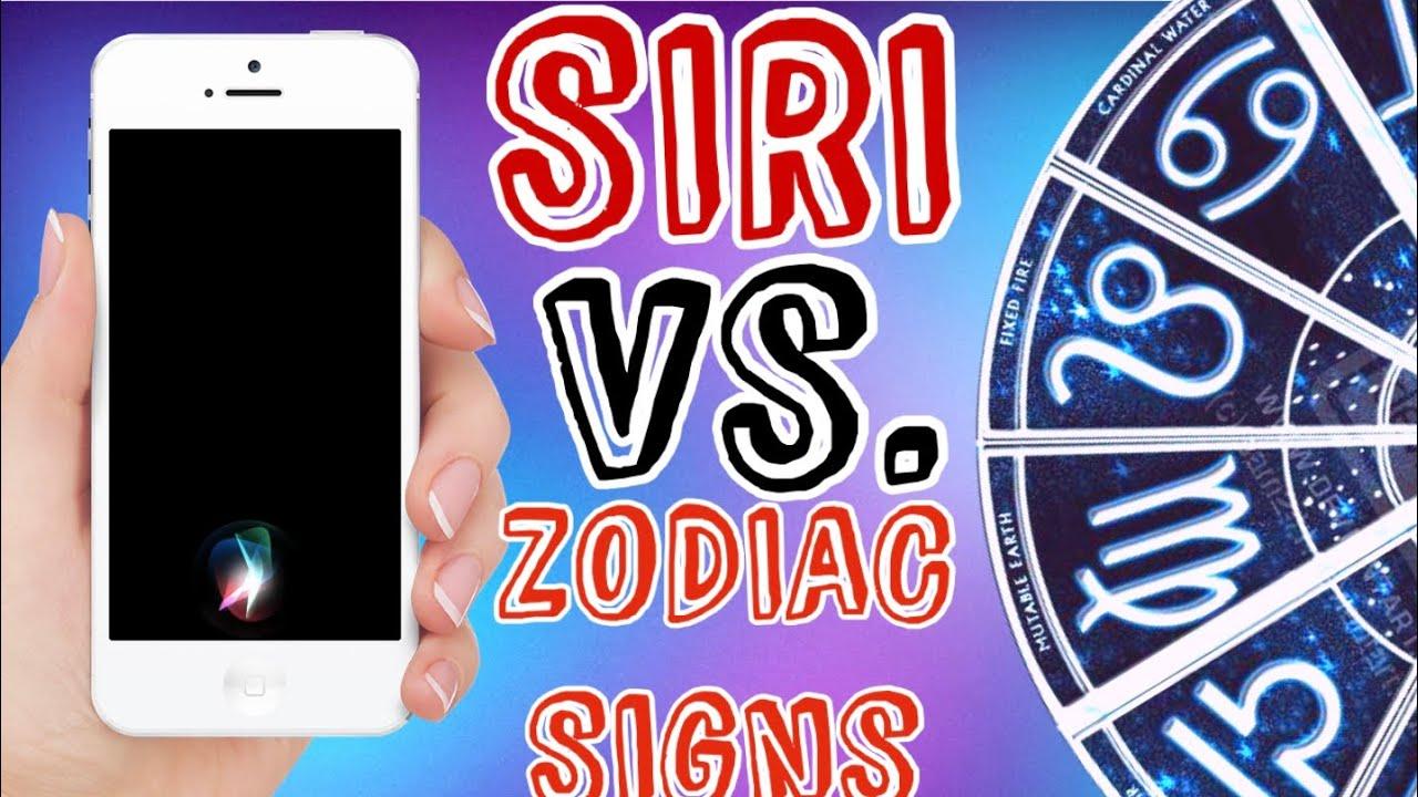 If Siri Roasted the Zodiac Signs.. (Air Signs)