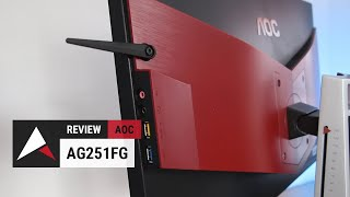 aOC AGON AG251FZ  240Hz FreeSync Gaming Monitor