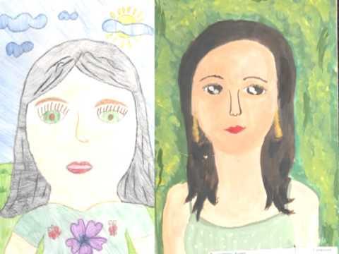 рисунки мама титр